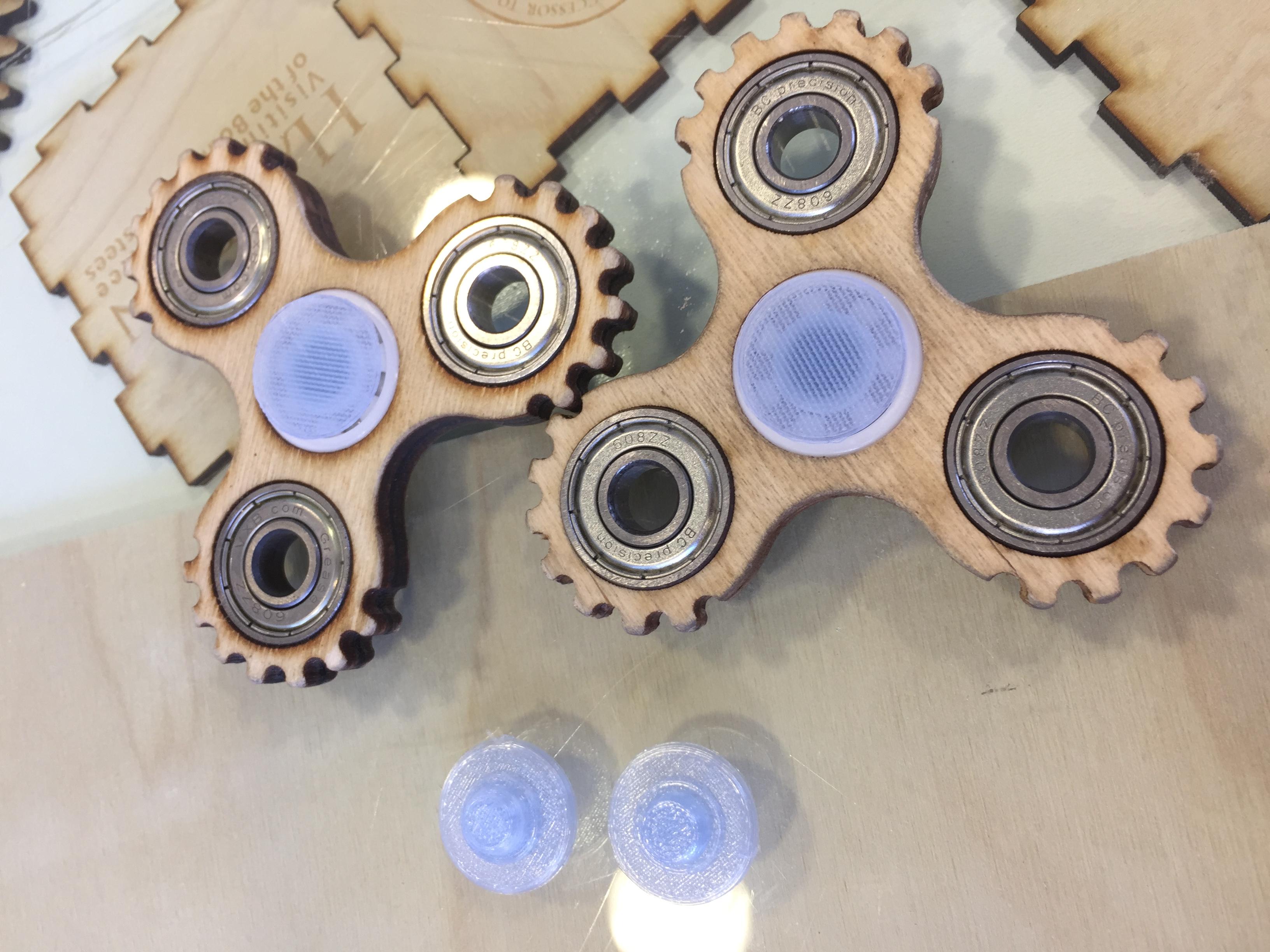 Wood Fidget Spinner Project