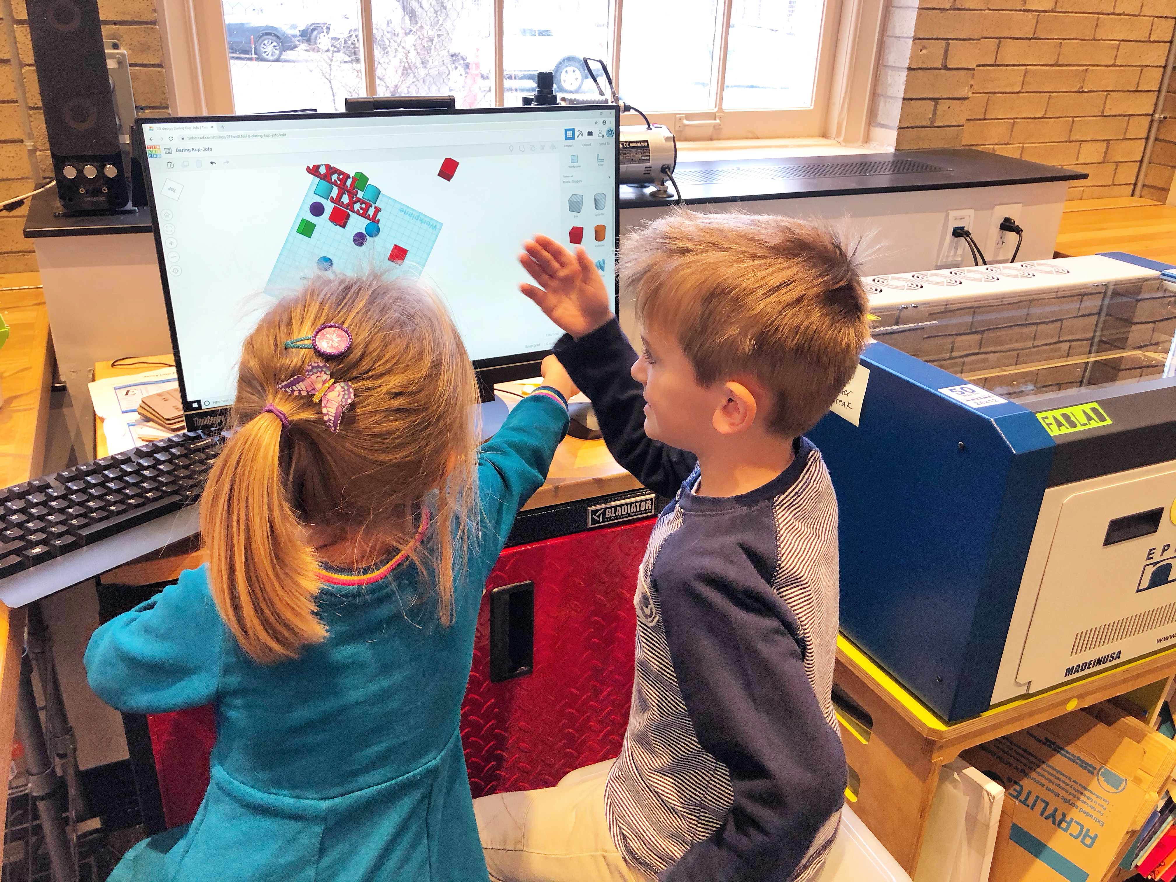 3D Design with Young Makers